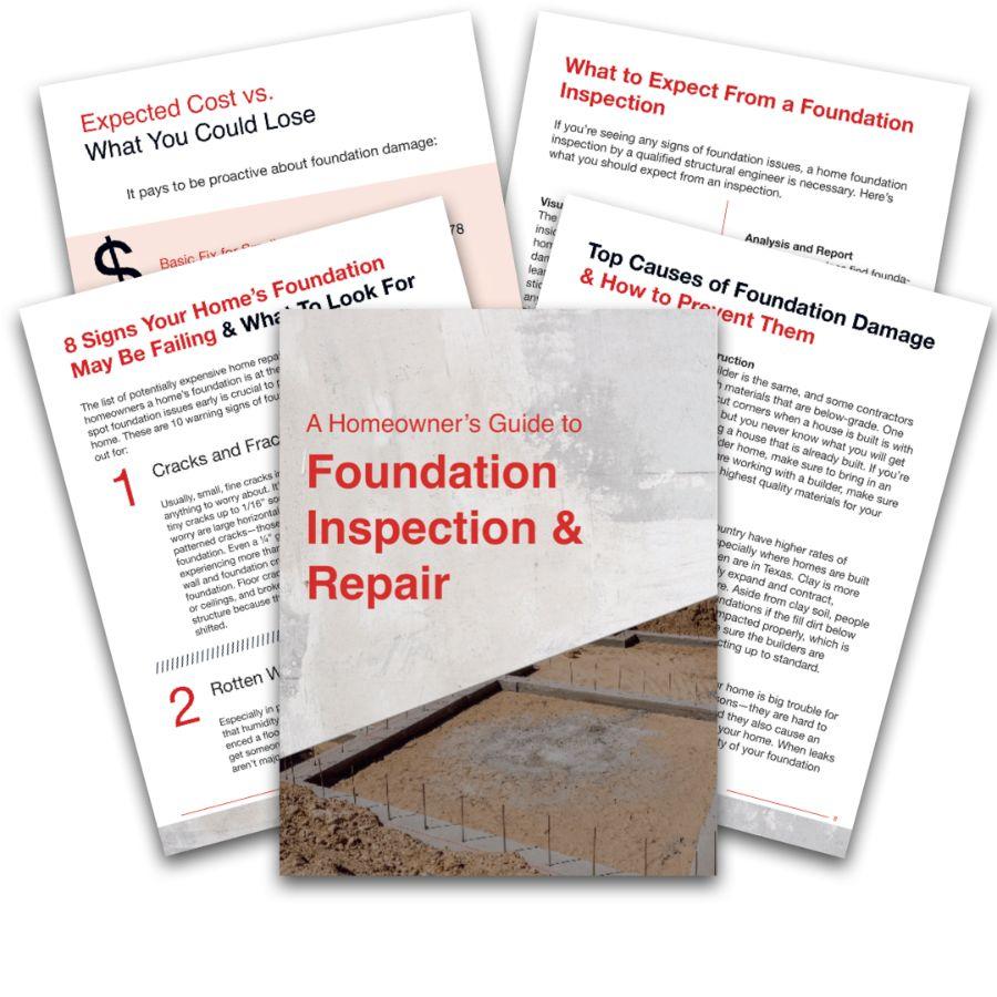 foundation repair guide ebook